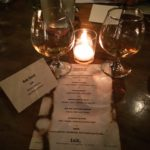 whisky events Dewars Ink Tasting Menu